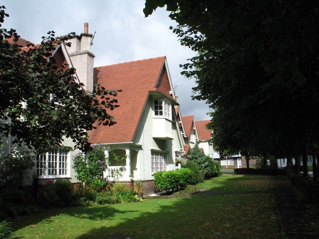 Houses at Port Sunlight (Tile-Hung Gables, Chalet Roofs)