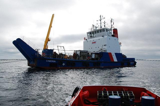 Cameron - Salvage Barge