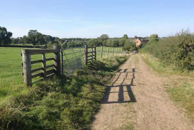 Bridleway to Little Lawford