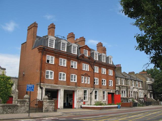 Deptford Fire Station, Evelyn Street, SE8