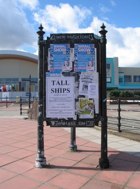 'What's On' at New Brighton