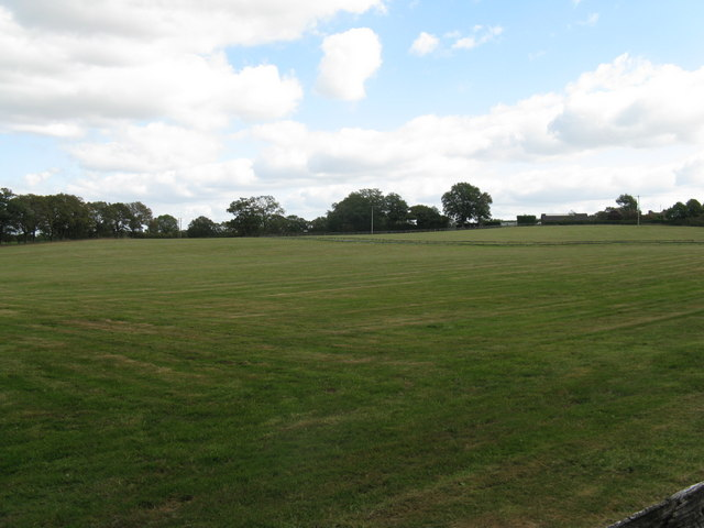 Grounds of Lower Lodge alongside Haven Road