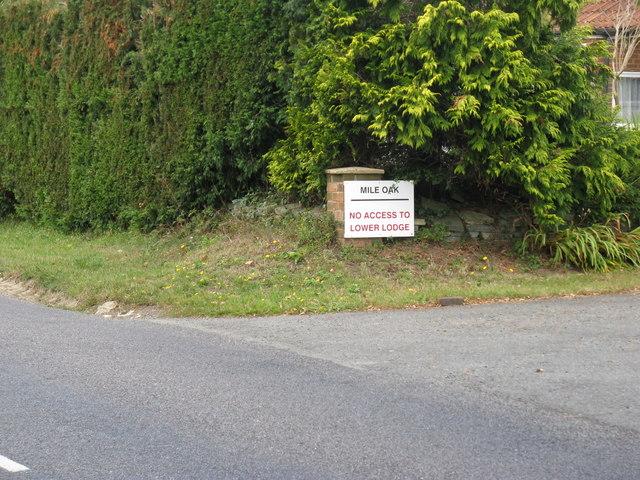 Property named Mile Oak