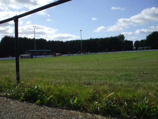 Anchor Field , home of Ringmer Football Club.