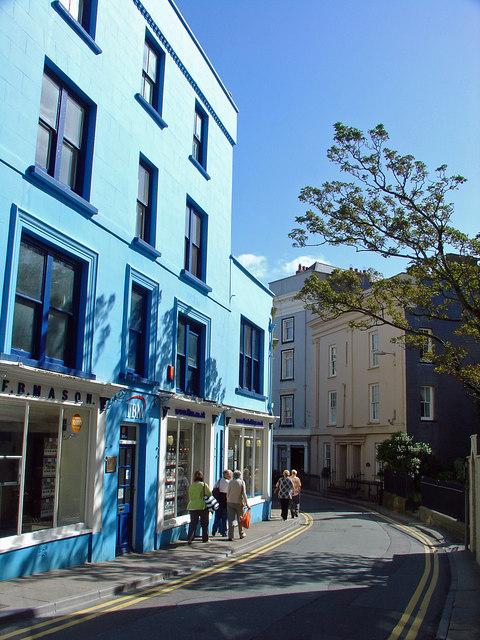 St Julian's Street, Tenby