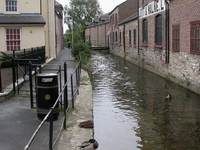 Dorchester, mill stream