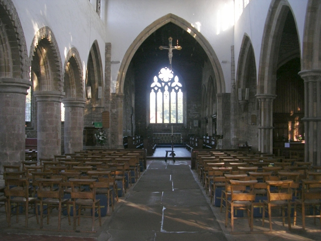 St Mary's Nave - Burgate