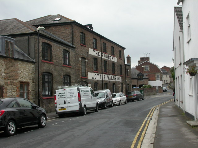 Dorchester, old factory