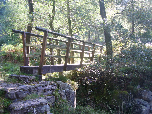 Footbridge Silver Cove Beck