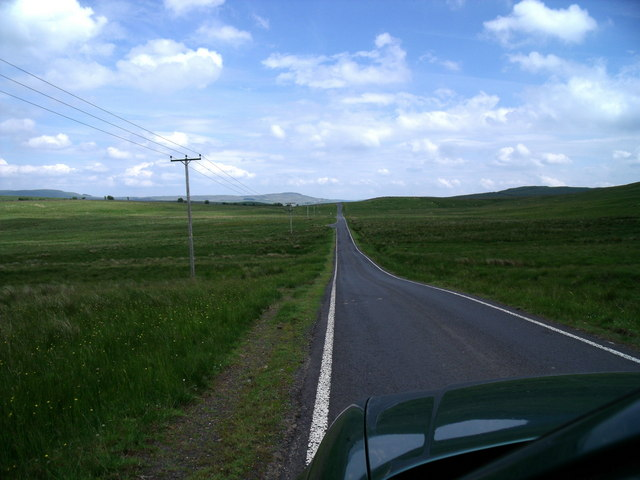 Road from Maybole to Crosshill