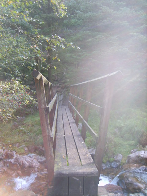 Footbridge, Deep Gill