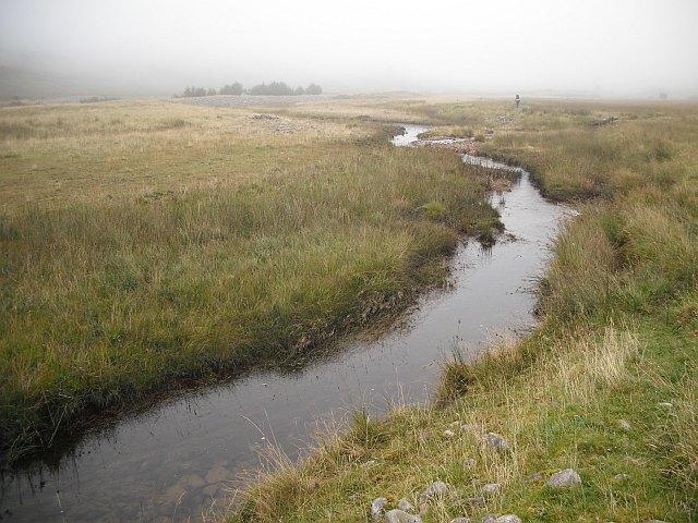 Glen floor, Water of Tulla