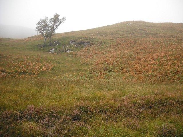 Moorland beside the Water of Tulla