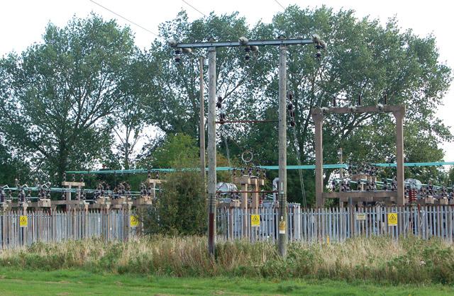 Electricity substation, near Model Village