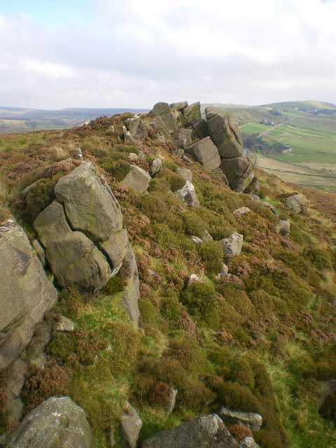 Flash Bottom Rocks - north buttress from the south
