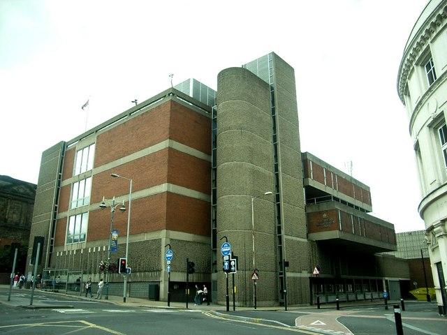 Sheffield Magistrates Court,  Castle Street