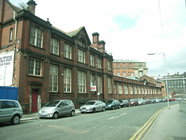 Former  Pond Street  Postal Sorting Office of 1897