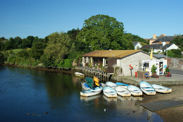 Boat Hire on the River Frome, Wareham, Dorset
