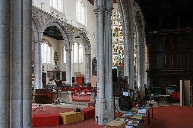 St Andrew Undershaft, St Mary Axe, EC2 - Interior