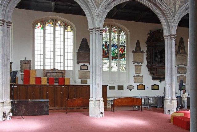 St Andrew Undershaft, St Mary Axe, EC2 - North arcade
