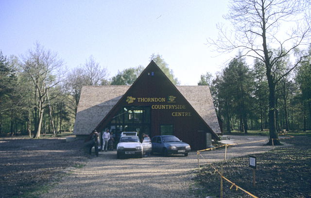 Thorndon Countryside Centre, Spring 1990