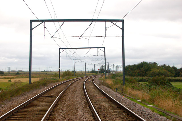 Railway north of Littleport