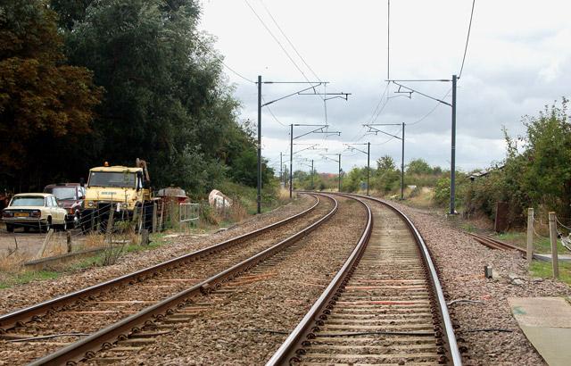 Railway south of Littleport