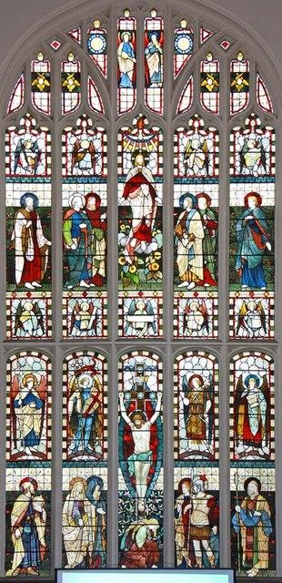 St Andrew Undershaft, St Mary Axe, EC2 - Window