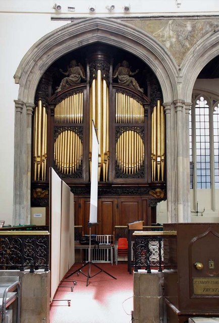 St Andrew Undershaft, St Mary Axe, EC2 - Organ