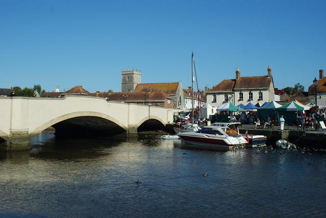 River Frome, Wareham, Dorset - Morning