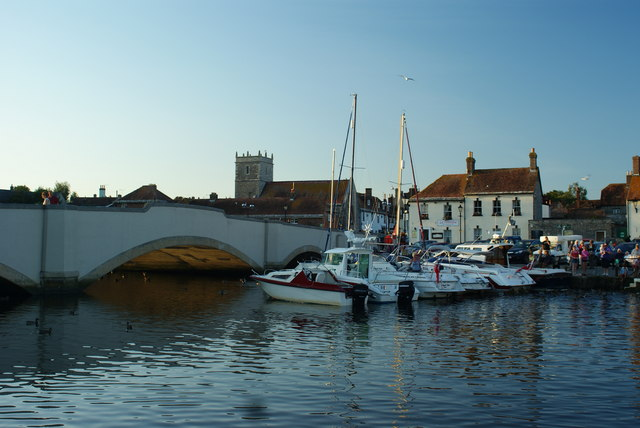 River Frome, Wareham, Dorset - Evening