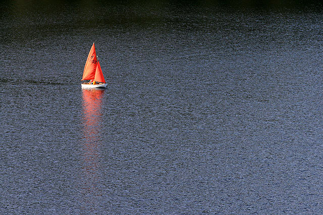 Sailing on St Mary's Loch