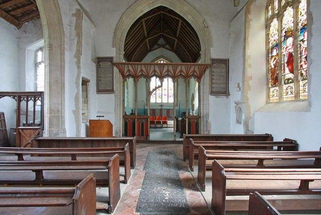 All Saints, Snetterton, Norfolk - East end