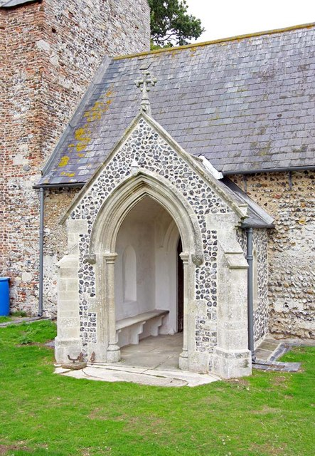 St Peter, Carleton St Peter, Norfolk - Porch