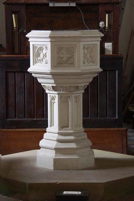 St Peter, Carleton St Peter, Norfolk - Font