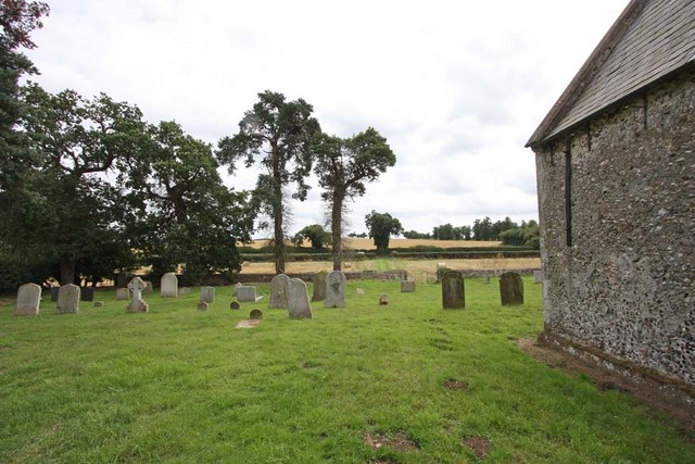 St Peter, Carleton St Peter, Norfolk - Churchyard