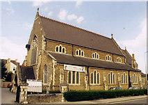 SU8650 : Holy Trinity, Aldershot by Michael FORD