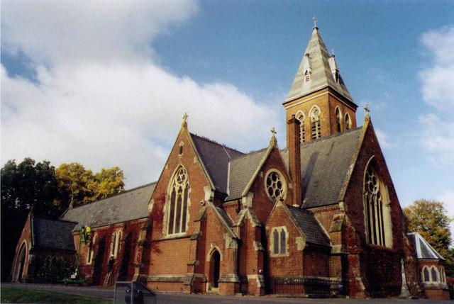 All Saints, Aldershot