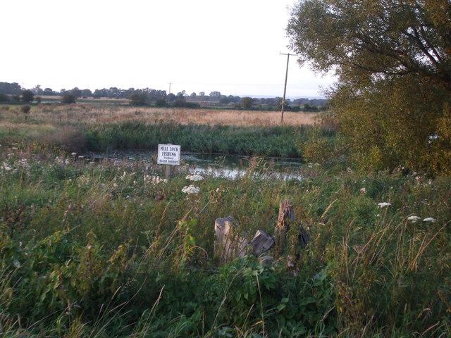 Mill Lock Fishing Pond