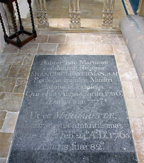 St Margaret, Hardley Street, Norfolk - Ledger slab