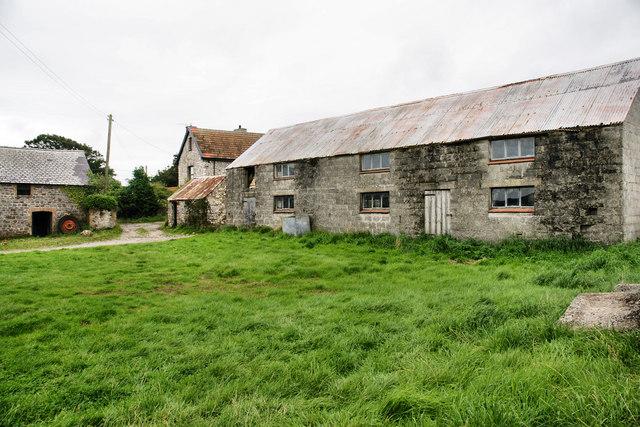 Farm Buildings, Llanddewi