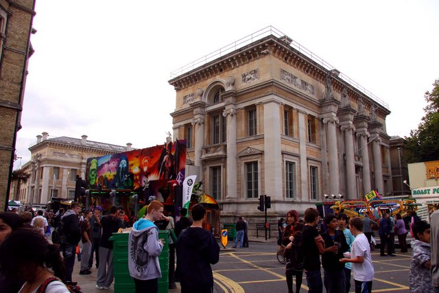 The Ashmolean Museum in Beaumont Street