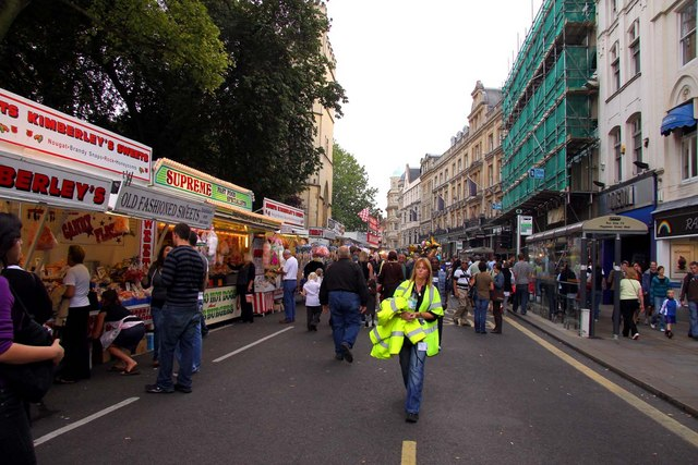 St Giles Fair in Magdalen Street