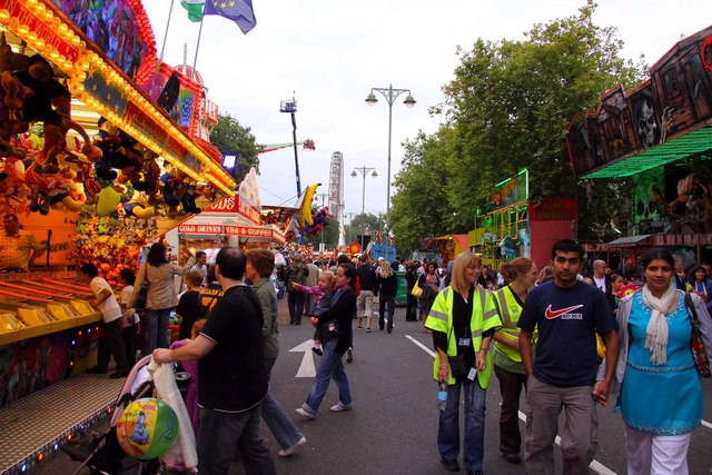 St Giles Fair on Woodstock Road