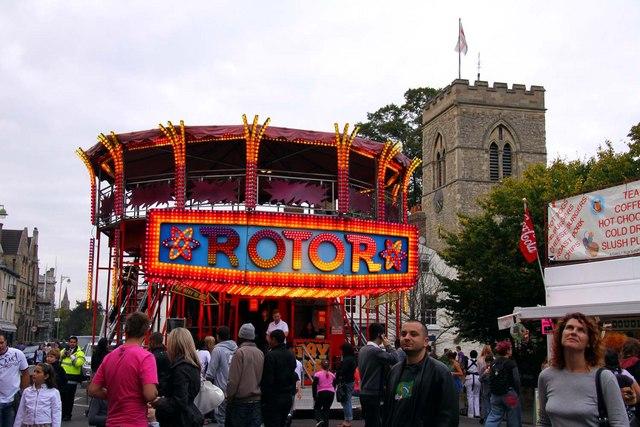 The Rotor at St Giles Fair