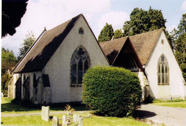 Aldershot Cemetery Chapels