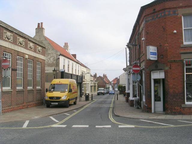 Fleetgate - viewed from High Street