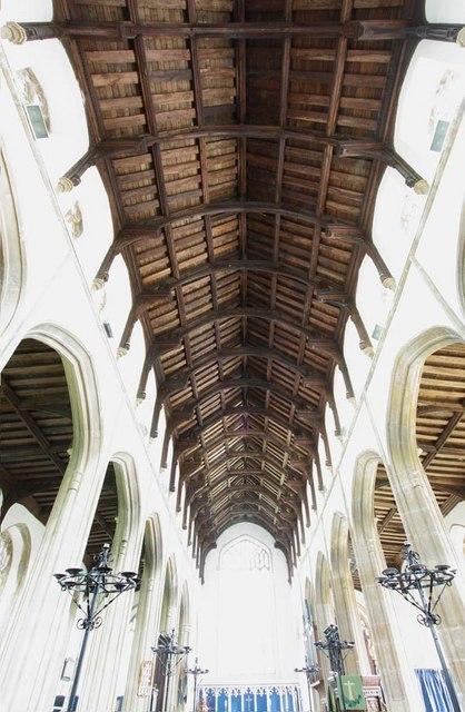 Holy Trinity, Loddon, Norfolk - Roof
