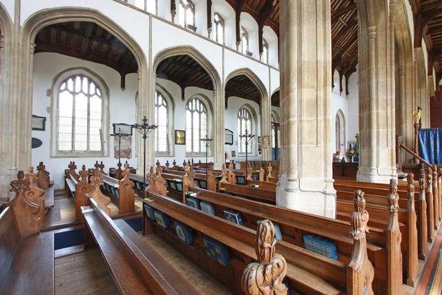 Holy Trinity, Loddon, Norfolk - Interior