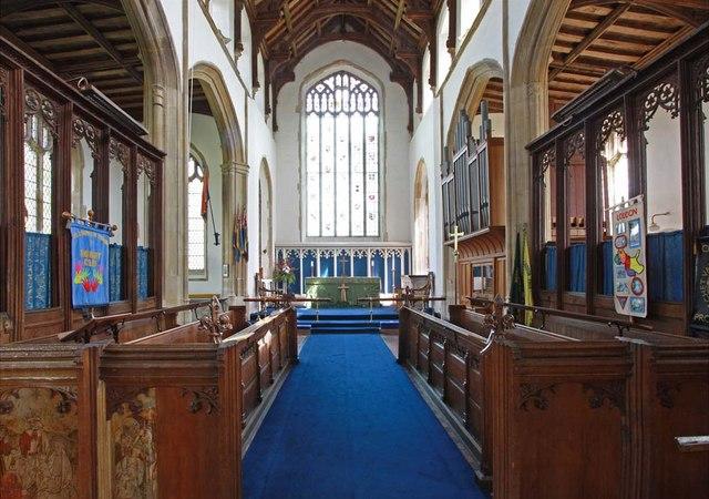 Holy Trinity, Loddon, Norfolk - Chancel